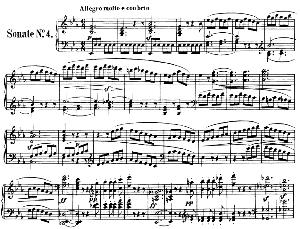 Piano Sonata No.4, Op.7 in E-Flat Major. L.V. Beethoven. Ed. Breitkopf Urtext (Karl Krebs), Vol. I  (Kalmus Reprint). Restored. | eBooks | Sheet Music