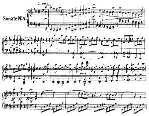 Piano Sonata No.7, Op.10 No.3 in D Major. L.V. Beethoven. Ed. Breitkopf Urtext (Karl Krebs), Vol. I  (Kalmus Reprint). Restored.   eBooks   Sheet Music