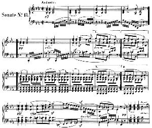 Piano Sonata No.13, Op.27 No.1 in E-Flat Major. L.V. Beethoven. Ed. Breitkopf Urtext (Karl Krebs), Vol. I  (Kalmus Reprint). Restored. | eBooks | Sheet Music
