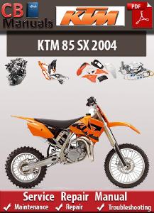 KTM 85 SX 2004 Service Repair Manual | eBooks | Automotive