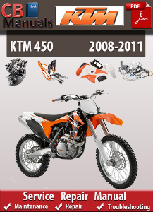 Ktm 450 2008-2011 Service Repair Manual | eBooks | Automotive