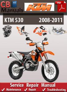 KTM 530 2008-2011 Service Repair Manual | eBooks | Automotive