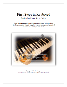 first steps in keyboard - part 8 - chords in f