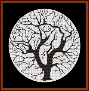 easy tree round