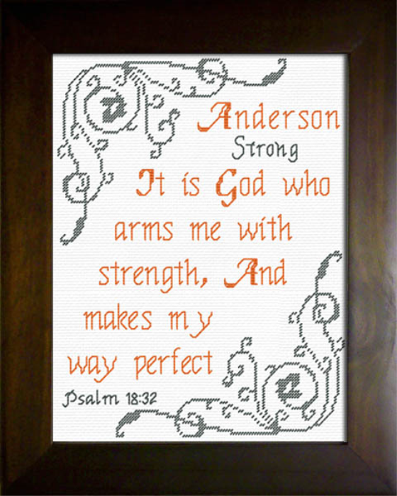 First Additional product image for - Name Blessings -  Anderson