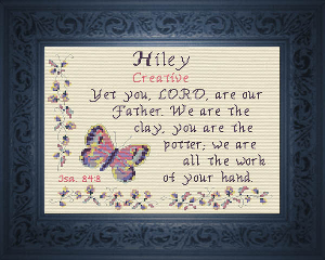 Name Blessings -  Hiley   Crafting   Cross-Stitch   Other
