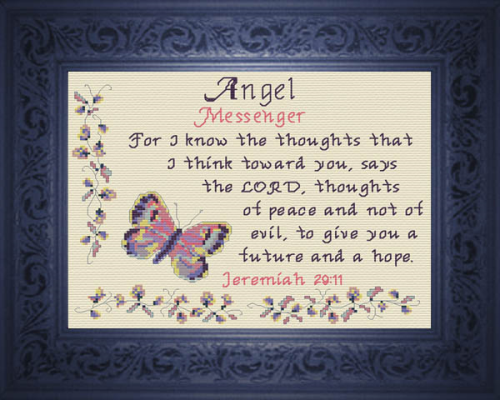 First Additional product image for - Name Blessings - Angel 2
