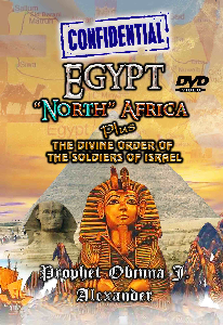 """""""confidential"""" egypt north africa plus the divine order of the soldiers of israel"""