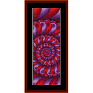 Fractal 466 Bookmark cross stitch pattern by Cross Stitch Collectibles   Crafting   Cross-Stitch   Other