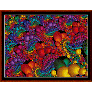 Fractal 467 cross stitch pattern by Cross Stitch Collectibles | Crafting | Cross-Stitch | Wall Hangings