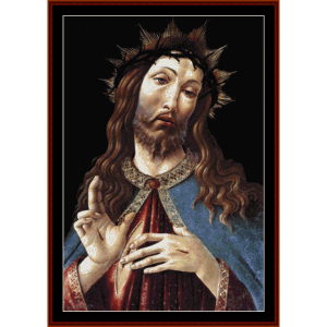 Christ Crowned with Thorns - Botticelli cross stitch pattern by Cross Stitch Collectibles | Crafting | Cross-Stitch | Religious