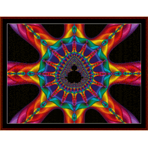 Fractal 468 cross stitch pattern by Cross Stitch Collectibles | Crafting | Cross-Stitch | Wall Hangings