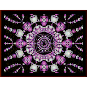 Fractal 469 cross stitch pattern by Cross Stitch Collectibles   Crafting   Cross-Stitch   Wall Hangings