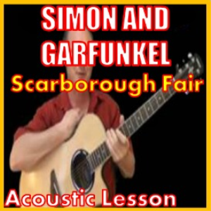 learn to play scarborough fair by simon and garfunkel