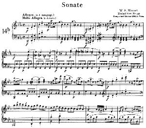Sonata No.14, K.467 in C minor. W.A. Mozart. Ed. Breitkopf Urtext (Unedited), Kalmus Reprint. | eBooks | Sheet Music