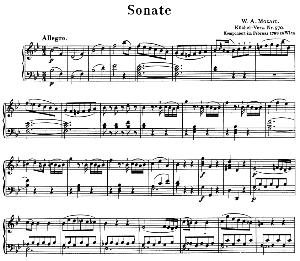 Sonata No.17, K.570 in B-Flat Major. W.A. Mozart. Ed. Breitkopf Urtext (Unedited), Kalmus Reprint. | eBooks | Sheet Music