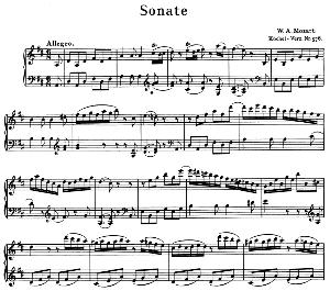 Sonata No.18, K.576 in D Major. W.A. Mozart. Ed. Breitkopf Urtext (Unedited), Kalmus Reprint.   eBooks   Sheet Music