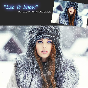 let it snow - overlays