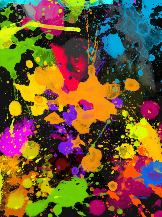 Second Additional product image for - 50 HQ Splatter Brushes for Photoshop