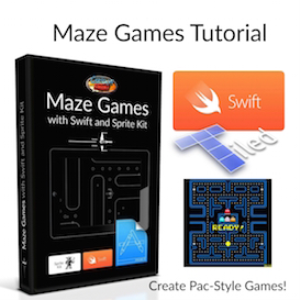 maze games with swift, sprite kit and tiled
