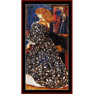 Sidonia Von Bork - Burne-Jones cross stitch pattern by Cross Stitch Collectibles | Crafting | Cross-Stitch | Wall Hangings