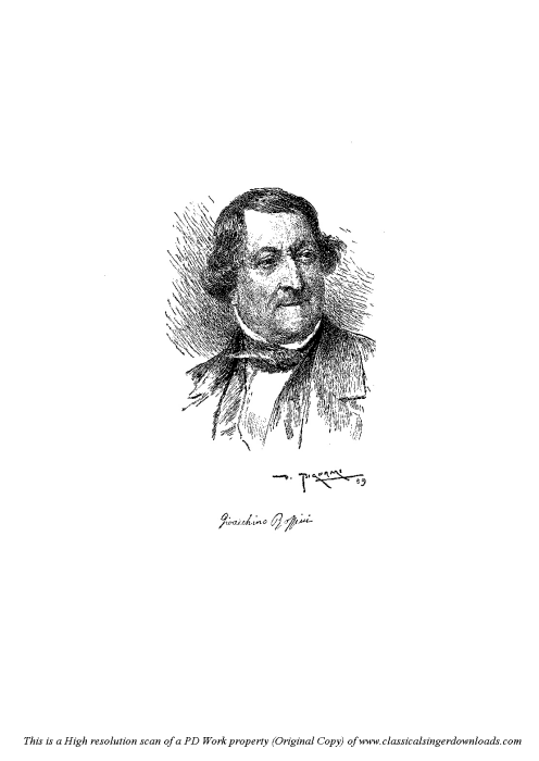 Second Additional product image for - Per lui che adoro. Aria for Mezzo (Isabella). G. Rossini: L'italiana in Algeri. Vocal Score. Ed. Ricordi. 1891 (PD). Italian.