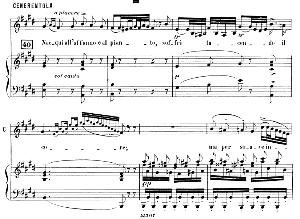 una volta c'era un re. recitative and aria for mezzo (cenerentola). g. rossini: la cenerentola. vocal score. ed. ricordi. 1869 (pd).italian.