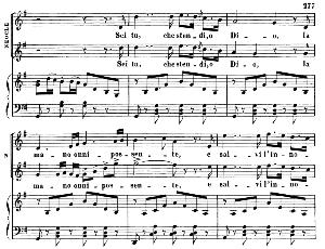 sei tu che stendi o dio. aria for tenor (neocle). g. rossini: l'assedio di corinto. vocal score. ed. ricordi, 1891 (pd).italian.