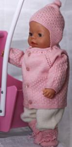 DollKnittingPatterns - 0119D ODA Babyjakke, Lue, Sokker, Bukse (Norsk) | Crafting | Knitting | Other