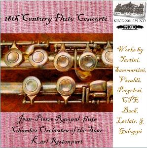 18th century flute concerti - jean-pierre rampal, flute