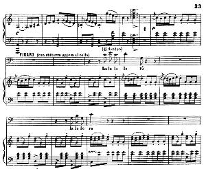 largo al factotum della città: aria (cavatina) for baritone (figaro). g. rossini: il barbiere di siviglia (the barber of seville). vocal score. ed. ricordi. 1869 (pd).italian.