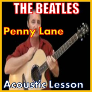 learn to play penny lane by the beatles