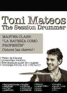 the session drummer. leccion 95. master class