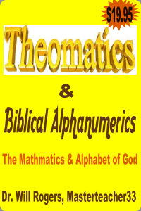 theomatics and biblical alphanumerics