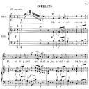 Chacun le sait, chacun le dit: Couplets for Soprano (Marie). G. Donizetti: La fille du régiment, Vocal Score, Ed. Ricordi (1876). French. | eBooks | Sheet Music
