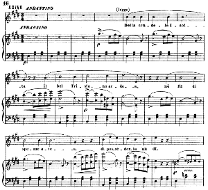 Della crudele isotta : Cavatina for Soprano (Adina). G. Donizetti: L'elisir d'amore, Vocal Score, Ed. Ricordi (1869). Italian | eBooks | Sheet Music