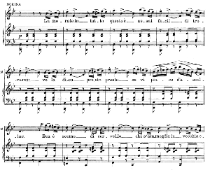 la morale in tutto questo : rondò for soprano (norina). g. donizetti: don pasquale, vocal score, ed. ricordi (1870). italian