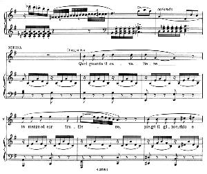 Quel guardo il cavaliere...So anch'io la virtù magica : Cavatina for Soprano (Norina). G. Donizetti: Don Pasquale, Vocal Score, Ed. Ricordi (1870). Italian. | eBooks | Sheet Music