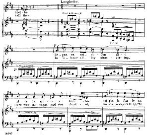 regnava nel silenzio: soprano aria (lucia). g. donizetti: lucia di lamermoor, vocal score, ed. schirmer (1898). italian/english