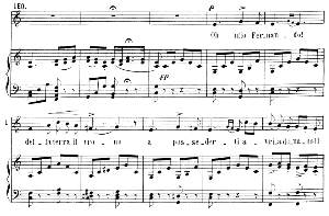 O mio Fernando: Aria for Mezzo (Leonora). G. Donizetti: La favorita, Vocal Score, Ed. Ricordi (1879). Italian. | eBooks | Sheet Music
