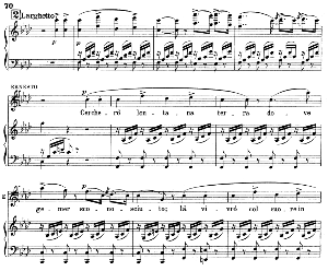 Povero Ernesto...Cercherò lontana terra: Recitative and Aria for Tenor (Ernesto). G. Donizetti: Don Pasquale, Vocal Score, Ed. Ricordi (1870). Italian. | eBooks | Sheet Music