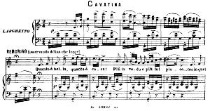 quanto e bella, quanto e cara: cavatina for tenor (nemorino). g. donizetti: l'elisir d'amore,vocal score, ed. ricordi (1869). pd. italian.
