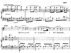 si che un tuo solo accento: recitative and aria for tenor (fernando). g. donizetti: la favorita, act i sc 2. vocal score, ed. ricordi (1879). pd. italian.