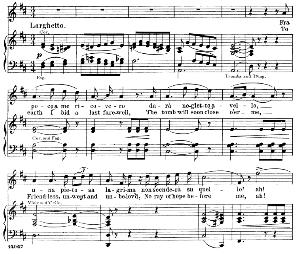 "Fra poco me ricoverò: Aria for Tenor (Edgardo). With recitative ""Tombe degl'avi miei..."" G. Donizetti: Lucia di Lamermoor, Vocal Score, Ed. Ricordi (1898). PD. Italian/English. | eBooks | Sheet Music"