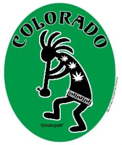colorado  marijuana smokopelli