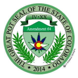 the great pot seal of the state of colorado