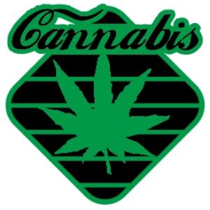 striped diamond cannabis