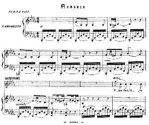 una furtiva lagrima: romanza for tenor (nemorino). g. donizetti: l'elisir d'amore, vocal score, ed. ricordi (1869). pd. italian.