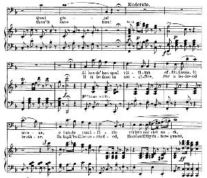 al ben dei tuoi qual vittima aria (raimondo bidebenti). g. donizetti:lucia di lamermoor, vocal score, ed. schirmer (1898).pd. italian/english