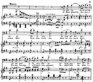 La pietade in suo favore: Aria for Baritone (Enrico Ashton)  . G. Donizetti: Lucia di lamermoor, Vocal Score, Ed. Schirmer (1898). PD. Italian/English   eBooks   Sheet Music